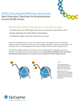 EpiCypher Ubiquitylated Nucleosomes Brochure